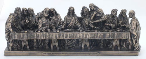 Veronese Last Supper Statue Goldscheider of Vienna...